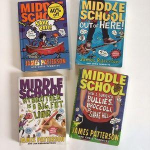 $20 bundle item💐 4 James Patterson books